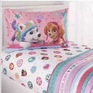 PAW PATROL Girls 4-Piece Full Bedding Sheet Set